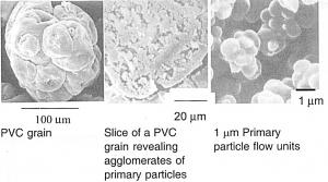 تصویر میکروسکوپی PVC